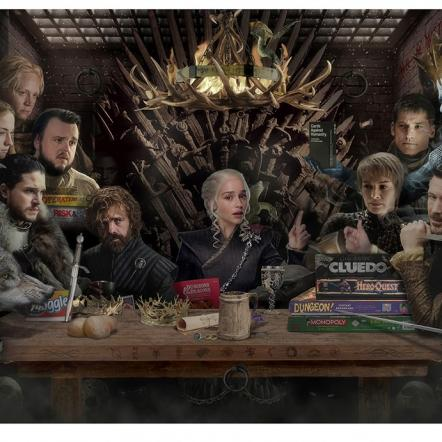 Board Game of Thrones By JJ Adams